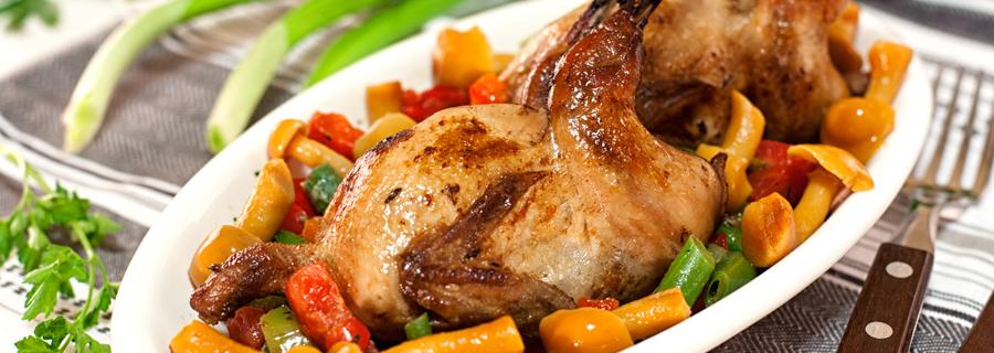 carne de caza menor para restaurantes y mayoristas